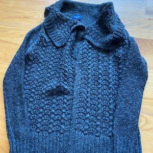 American Eagle charcoal grey cardigan sweater